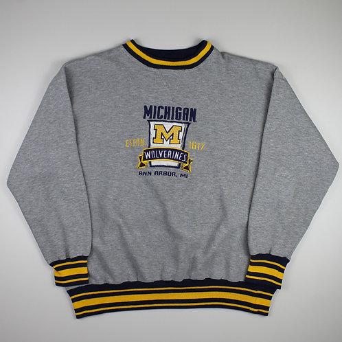 Vintage Grey 'Michigan Wolverines' Sweatshirt