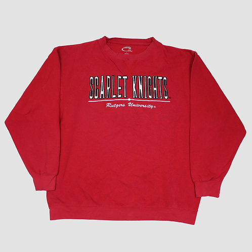 Vintage 'Scarlet Knights' Red Sweater