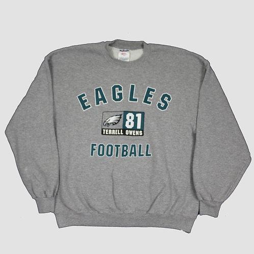 NFL 'Eagles Football' Grey Sweater