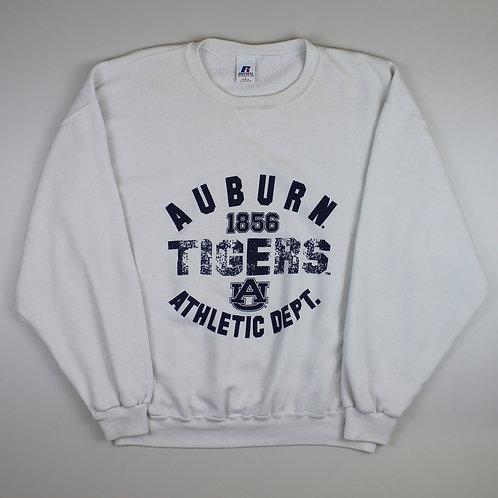 Russel Athletic White 'Auburn Tigers' Sweatshirt