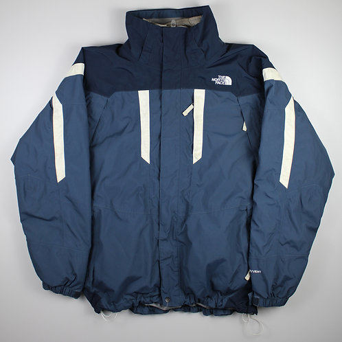 The North Face Navy Coat with Removable Jacket