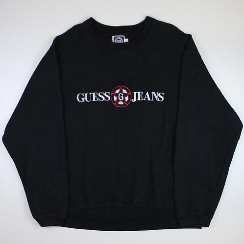 Guess Jeans Black Sweatshirt