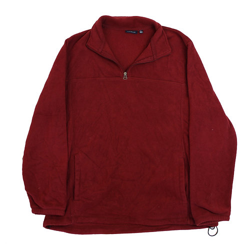 Vintage Maroon Fleece