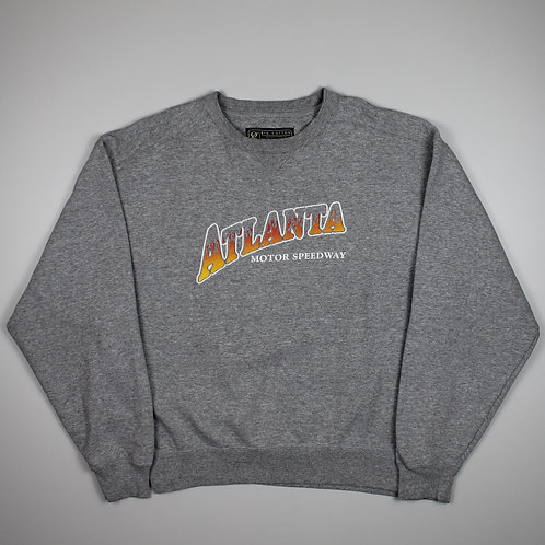 Vintage 'Atlanta Speedway' Grey Sweater