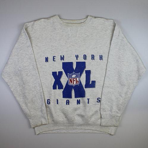 Starter Grey New York Giants Sweatshirt