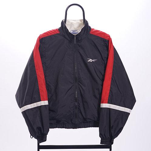Reebok Vintage Black Tracksuit Jacket