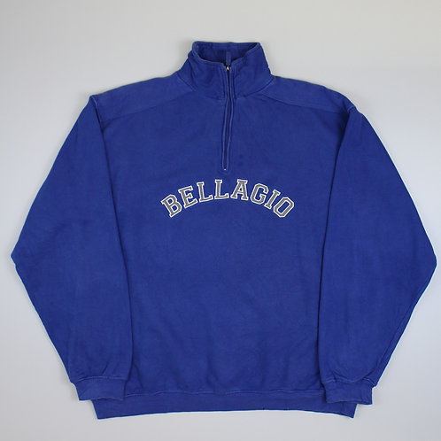 Vintage Blue Bellagio 1/4 Zip Sweatshirt