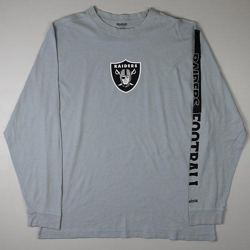 Reebok Grey Raiders T-Shirt