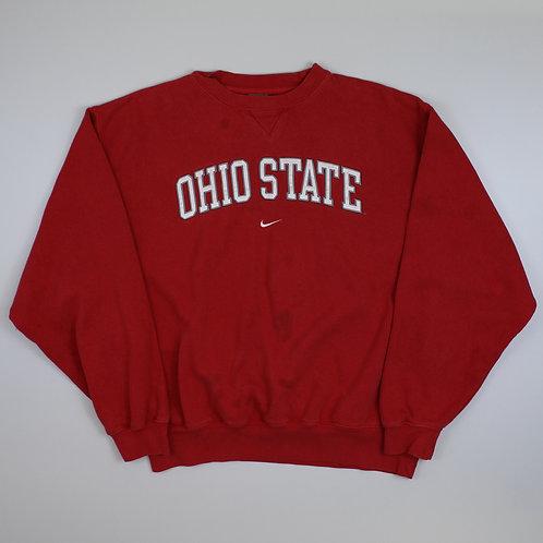 Nike Red 'Ohio State' Sweatshirt