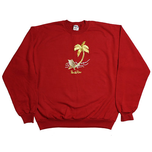 Puerto Rico Red Sweater