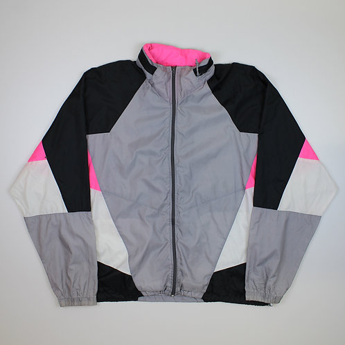 Nike Pink & Grey Tracksuit Top
