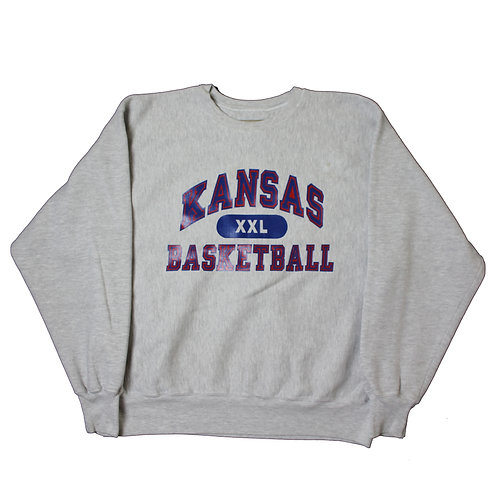 Champion 'Kansas Basketball' Grey Sweater