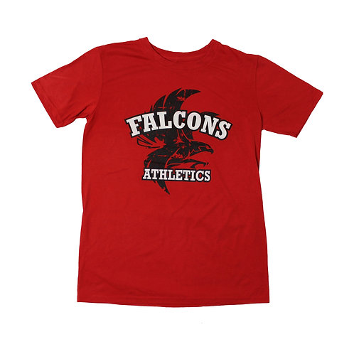 Vintage 'Falcons' Red T-shirt