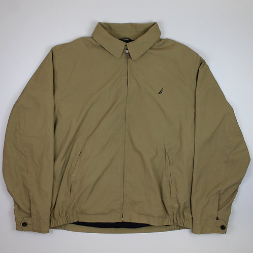 Nautica Beige Harrington Jacket