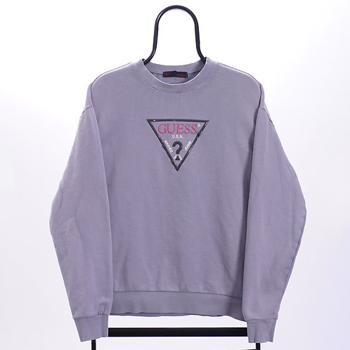 Guess Vintage Blue Logo Sweatshirt