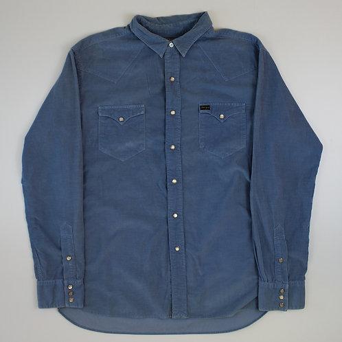 Ralph Lauren Blue Corduroy Shirt