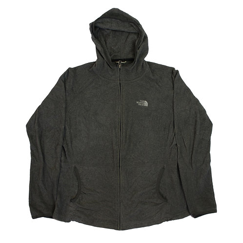 The North Face Grey Hooded Fleece