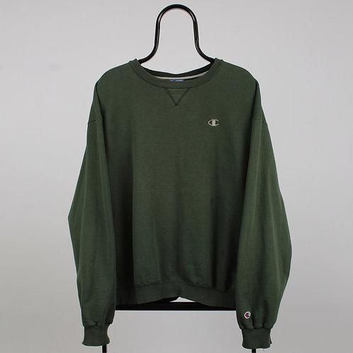 Champion Vintage Green Sweatshirt