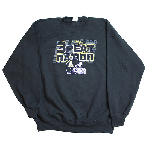 Black '3 Peat Nations' Sweater