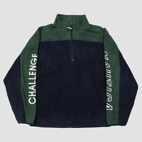 Nautica Green & Navy Fleece