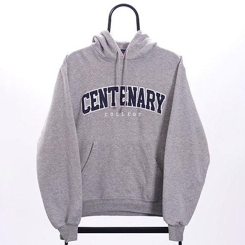 Champion Vintage Grey Centenary Hoodie