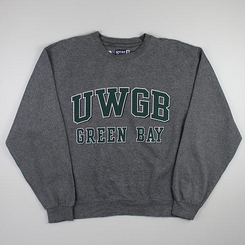 Vintage Grey 'UWGB' Sweatshirt