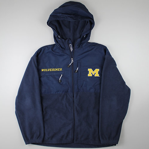 Vintage Navy 'Michigan Wolverines' Fleeced Jacket
