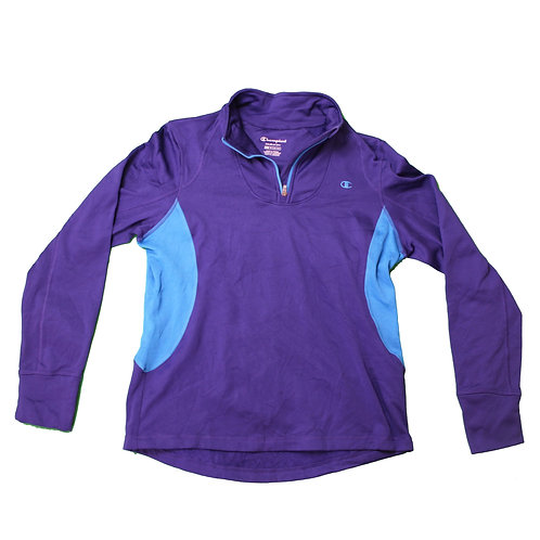 Champion Purple Tracksuit Top