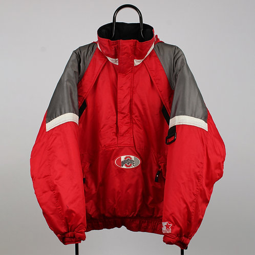 Starter Vintage Red Ohio State Coat
