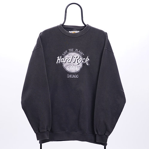 Hard Rock Cafe Vintage Grey Chicago Sweatshirt