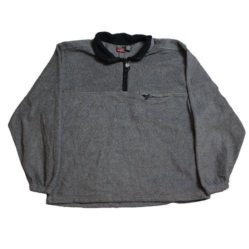Vintage Grey 1/4 Zip Fleece