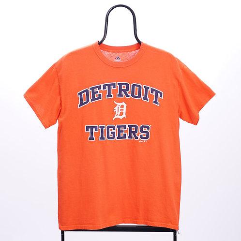 Majestic Vintage MLB Detroit Tigers Orange TShirt