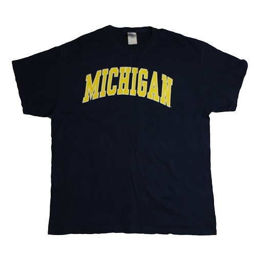 Vintage Navy Michigan T-Shirt