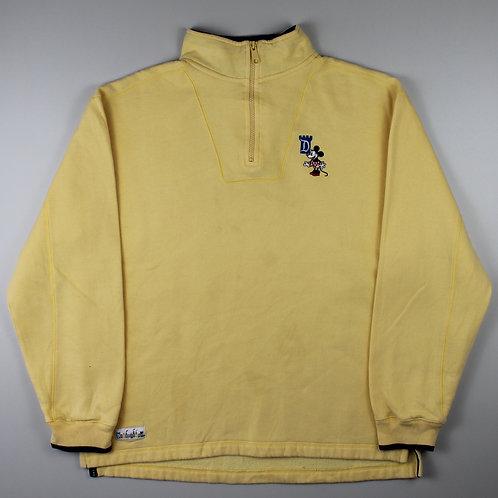 Disney Yellow Sweatshirt
