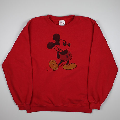 Disney 'Mickey Mouse' Red Sweater