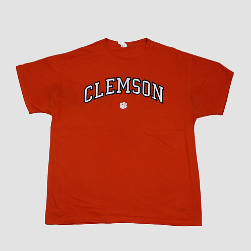 College Football 'Clemson' Orange T-shirt
