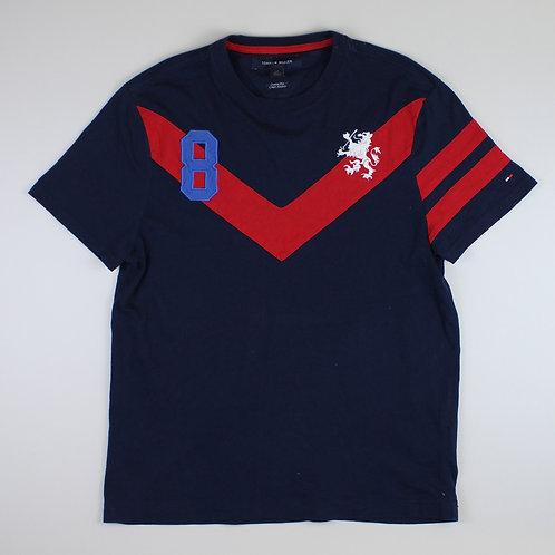 Tommy Hilfiger Navy '8' T-Shirt