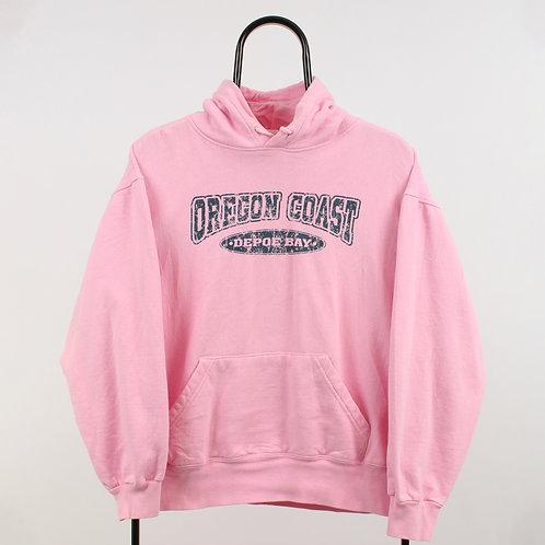 Vintage Pink Oregon Coast Hoodie
