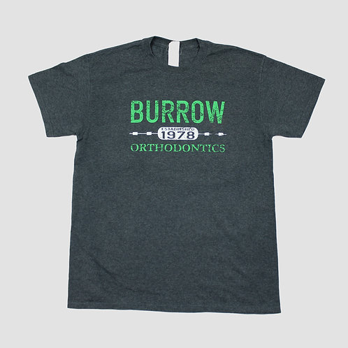 Vintage 'Burrow' Dark Grey T-shirt