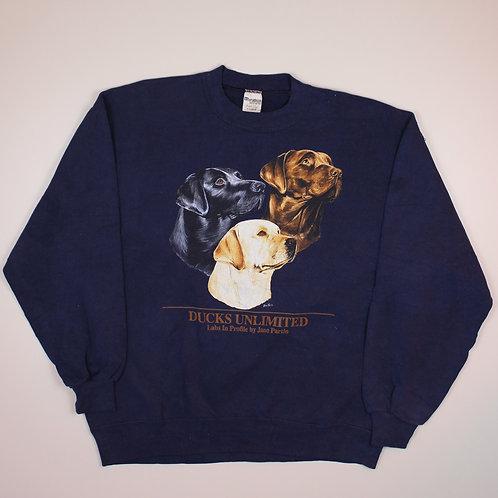 Vintage 'Labrador' Navy Sweater