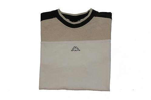 Kappa White & Cream T-Shirt