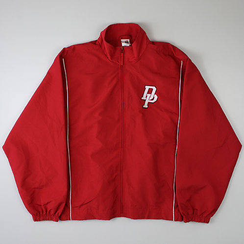 Vintage Red 'DP' Tracksuit Top