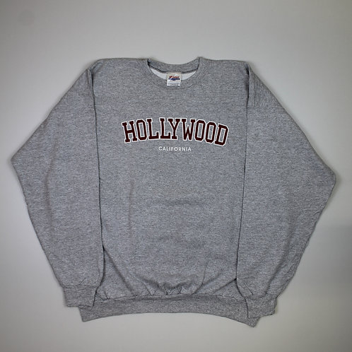 Vintage  'Hollywood' Grey Sweater