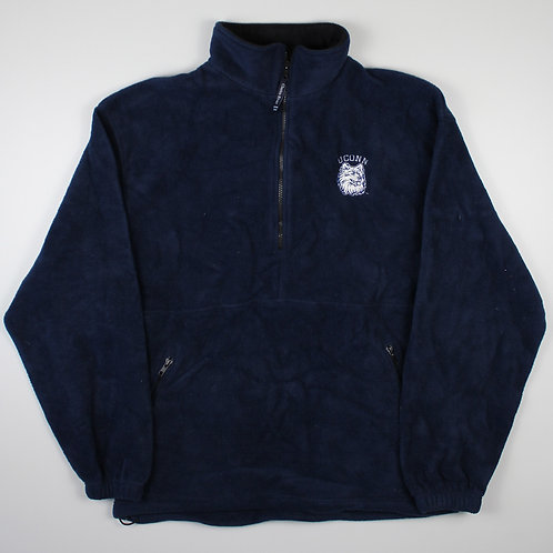 Vintage Navy UCONN Fleece