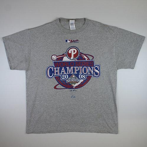 Vintage MLB '2008 World Series Champions' T-Shirt
