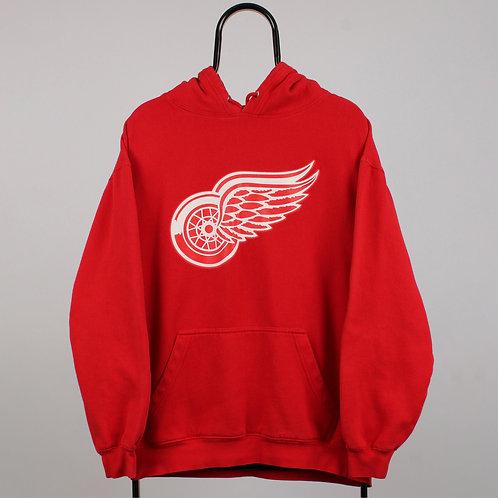 Vintage NHL Detroit Redwings Red Hoodie