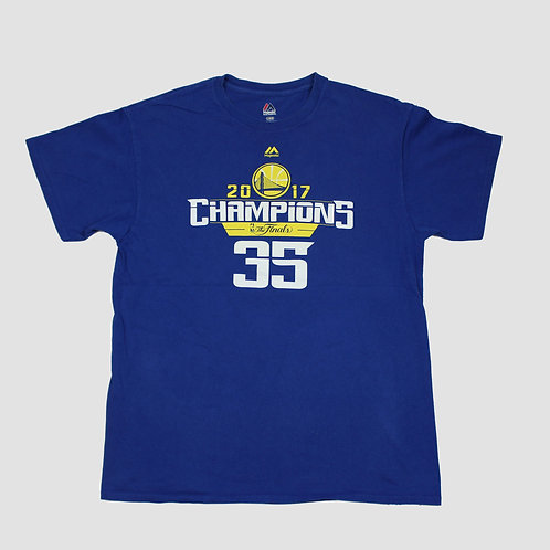 Majestic 'Golden State Warriors' Blue T-shirt