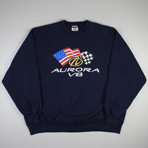 Vintage Navy 'Aurora V8' Sweatshirt