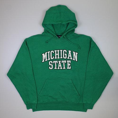 Vintage 'Michigan State' Green Hoodie