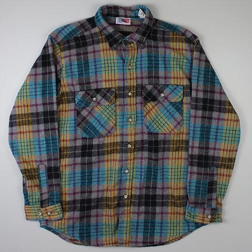 Vintage Multicolour Flannel Shirt